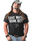 "Official TNA Impact Wrestling Cowboy James Storm ""Save Water"" T-Shirt"