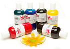 SCOLA SEVEN COLOURS 150ml  BOTTLES OF GLASS ART PAINTS WINDOW SUNCATCHER PAINTS