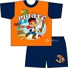 Boys Jake and The Neverland Pirates Short Pyjamas Ages 1-4 Years Pirate Skully