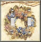 Light Switch Plate Cover - Country Floral Wreath - Home Decor