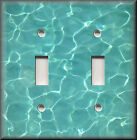 Metal Light Switch Plate Cover - Cool Calm Swimming Pool Water Spa Hom $13.99 USD on eBay