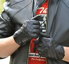 man's new top quality goat leather gloves motor/everyday quilted leather gloves