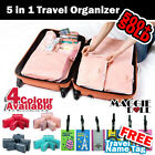 5 Travel Bag Trips Organiser Clothes Accessories Case Tidy Fashion Bags Luggage