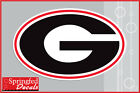 Georgia Bulldogs G LOGO Vinyl Decal UGA Car Truck Window Sticker PICK A SIZE!