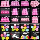 Silicone Mould Mold Ice Cube Chocolate Cake Cupcake Muffin Soap Candy Molds DIY
