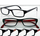 D(R361B)2 Pairs Plastic Frame Reading Glasses/ Unisex/5 Colours/Aspheric Lense
