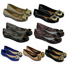 NEW WOMENS LADIES FLAT BALLERINA BALLET CASUAL LOAFERS JELLY PUMPS SHOES DANCE