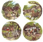4 Country Farm Animal Scene Select-A-Size Waterslide Ceramic Decals Bx image