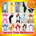 Animal Onesies Kids Adult Unisex Kigurumi Cosplay Costume Pyjamas Pajamas AU