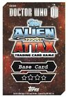 Doctor Who Alien Attax Topps *CHOOSE YOUR CARD* Base Card 140-169