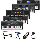 Yamaha Electric Portable Keyboard PSR-E 343 443 650 Digital Piano Deluxe Bundle