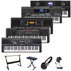 Yamaha Electric Portable Keyboard PSR-E 353 443 670 Digital Piano Deluxe Bundle