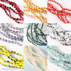 100pcs Faceted Crystal Glass Spacer Bead 3mm Jewelry Findings Charms 10 colors