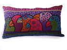 "Nj16a Linen Style Fabric Parrot Totem Pattern Pillow Cases 13""x23""4/ 33 x60cm"