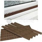 NEW BROWN FENCE & WALL SPIKES POST CAT REPELLENT INTRUDER DETERRENT ANTI CLIMB