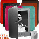 Kindle 4 / 5 / Paperwhite magnetic hook cover case crazy horse+ Screen Protector