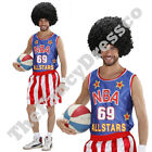 NBA Basketball Player Mens Male Fancy Dress Costume Sport Celebrity Globetrotter