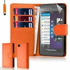 32nd Book Wallet PU Leather Case Blackberry Phones