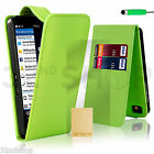 32nd Book Wallet PU Leather Case Blackberry Phones + Screen Protector & Stylus