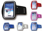 4 Colors New Sports Gym Armband PU Leather Phone Case Cover Shell For N7100