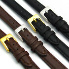 Ladies Soft Genuine Leather watch Strap Band Choice of colours FREE UK Post