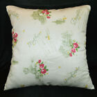 Hb201a Lt.Green P.Green Hot Pink Rose Art Cushion Cover/Pillow Case Custom Size
