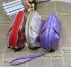 "A""OK New Fashion travel storage pouch packet trumpet Cosmetic Bag Double Floors"