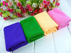 CHOOSE QTY 70*30 CM Microfiber Water Ultra-Absorptive Bath Towel For Dog Pet