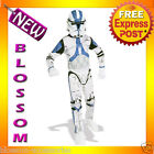 CK56 Boys Star Wars Clone Trooper Suit Halloween Fancy Child Costume