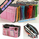 New Large Women Insert Handbag Internal Organiser Purse Pouch Purse Bag in Bag
