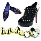 Skull Cone Pyramid Round Studs Rivet Spike Metal For Punk Bag Shoes Leathercraft