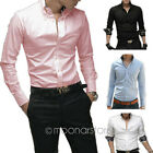 2013 Collection Mens Stylish long Sleeve Formal/Casual Slim-Fit Dress Shirt Tops