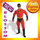 C174 The Incredibles - Mr. Incredible Muscle Superhero Fancy Dress Adult Costume