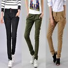Womens Sexy Slim Feet  Casual Pencil Skinny Harem Pants OL Long Trousers Jeans