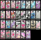 3D Gem Diamond Crystal Bling Pearl Hard Back Case Cover For Sony Xperia U st25i