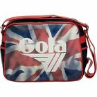 Gola Redford Messenger 'Britannia' Union Jack Print Record School College Bag
