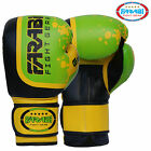 Boxing Gloves Fight Punch Bag Mitts MMA Muay Thai Grappling Pads Rex Leather Gel