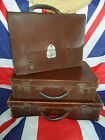 UNISEX Boho Vintage Brown Leather Satchel With Character (SATCHEL ONLY LEFT)