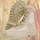 MIL-COM SUEDE SAND DESERT PATROL BOOTS SIZES 4 to 13