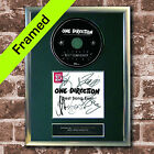 ONE DIRECTION FRAMED Best Song Ever AUTOGRAPH CD Reproduction Print A4 (54)