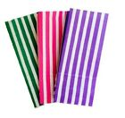 30 x CANDY STRIPE SWEET / PICK AND N MIX PAPER PARTY BAG - CAKE BUFFET BAGS