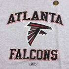 Official NFL Atlanta Falcons Heather Grey Preshrunk T-Shirt Football Men's M-XL