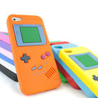 For Apple iPhone 5C Colorful Game Boy Silicone Gel Skin Case Cover Accessory