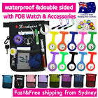 "NURSES POUCH+FOB WATCH""extra pocket""ORGANIZER WALLET PICK BAG+Waist Strap&More"