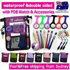 "NURSE POUCH+WATCH ""extra pocket"" ORGANIZER WALLET PICK BAG+Penlight+Waist Strap"