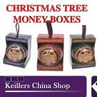 H&H Personalised Money Boxes Names A-H Christmas Tree Decoration Birthday Gift