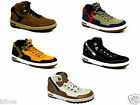 MENS CATERPILLAR CAT MOTIVATE HI LEATHER CASUAL HI-TOP TRAINERS SIZE UK 6-11 NEW