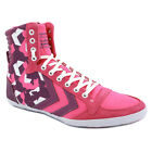 Hummel M Stadil Grf Womens HighTop Trainers Canvas Pink Purple New Shoes 3 4 7 8