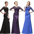 Ever Pretty Hot Vintage Ladies Lace Long Maxi Formal Prom Evening Dresses 09882