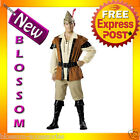 E25 Robin Hood Thieves Adult Mens Fancy Halloween Costume